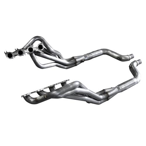 "American Racing Headers Mustang 1 7/8"" Long Tube System w/ Off-Road Lead Pipes (15-17) 5.0 MTC5-15178300DCNC"