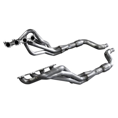 "American Racing Headers Mustang 1 7/8"" Long Tube System w/ Catalytic Lead Pipes (15-17) 5.0 MTC5-15178300DCWC"