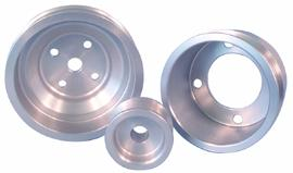 ASP Mustang Aluminum Underdrive Pulley Kit (79-93) 824125