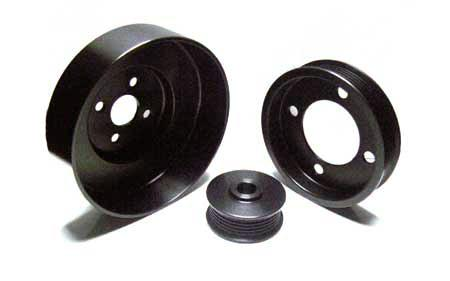 ASP Mustang Underdrive Pulley Kit Black Aluminum (94-95) 5.0L