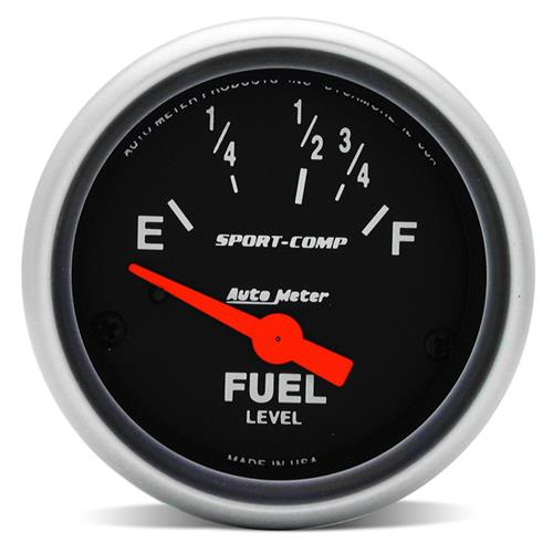 "Auto Meter Mustang Sport Comp Fuel Level Gauge  2 1/16"" (87-97) 3318"