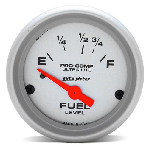 "Auto Meter Mustang Pro Comp Ultra Lite Fuel Level Gauge 2 1/16"" (87-97) 4318"