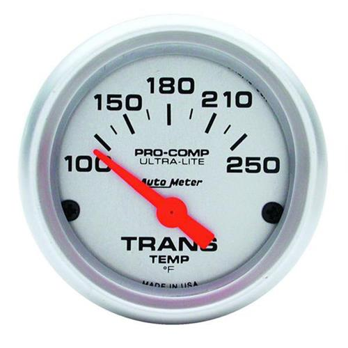 "Autometer Ultra-Lite Transmission Temp Gauge - 2-1/16"" 4357"