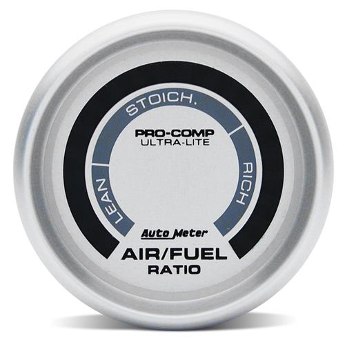 "Autometer Ultra-Lite Narrowband Air/Fuel Ratio Gauge - 2 1/16""  - Autometer Ultra-Lite Narrowband Air/Fuel Ratio Gauge - 2 1/16"""