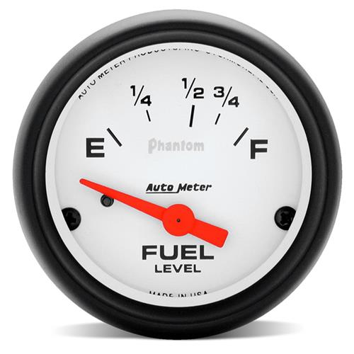 "Auto Meter Mustang Phantom Fuel Level Gauge 2 1/16"" (87-97)"