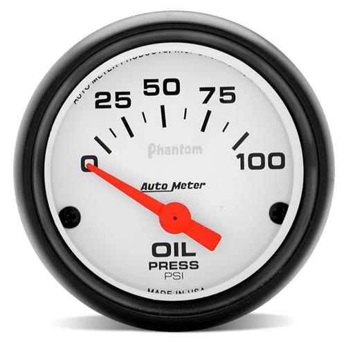 "Autometer  Phantom Oil Pressure Gauge - 2 1/16""  5727 - Autometer  Phantom Oil Pressure Gauge - 2 1/16""  5727"