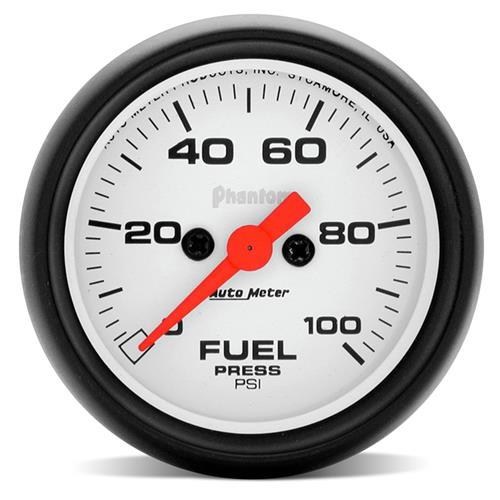 "Autometer  Phantom Fuel Pressure Gauge - 2 1/16""  5763"