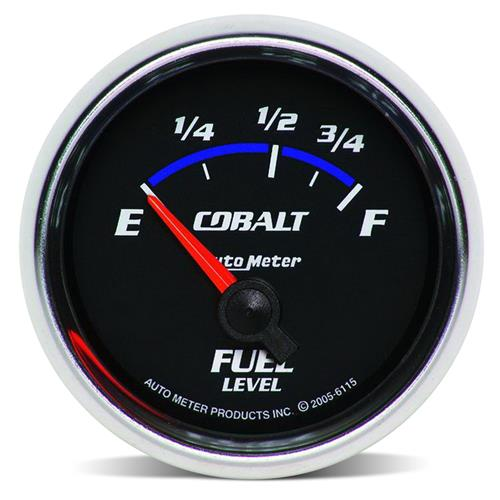 "Auto Meter  Cobalt Fuel Level 2-1/16"" Gauge (79-86) 6115"