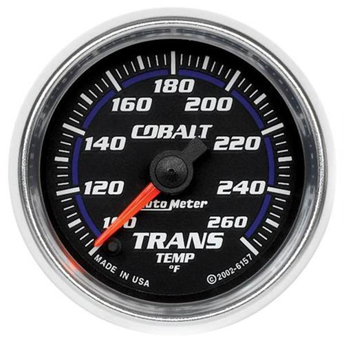 "Autometer Cobalt Transmission Temp Gauge - 2-1/16"" 6157"