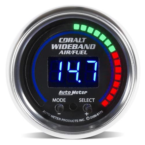 "Auto Meter Cobalt Wideband Air/ Fuel Ratio Gauge 2 1/16"" 6178 - Auto Meter Cobalt Wideband Air/ Fuel Ratio Gauge 2 1/16"" 6178"