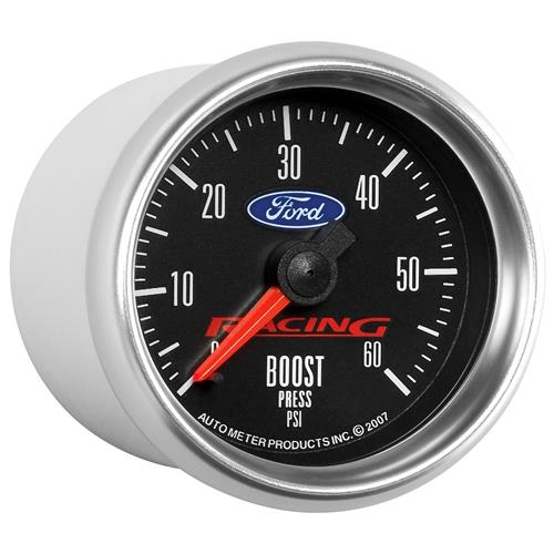 "Auto Meter Ford Racing Boost Gauge 2-1/16"" 880106"