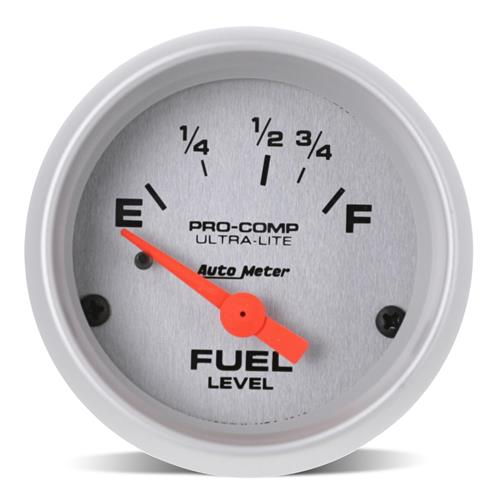 "Auto Meter Ultra-Lite Fuel Level Gauge - 2 1/16"" 4318"