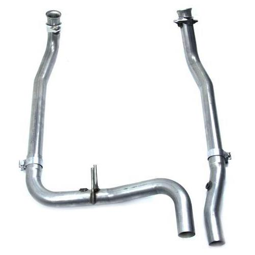 Bassani F-150 SVT Lightning Off Road Y-Pipe Stainless Steel (99-04) 54150L2