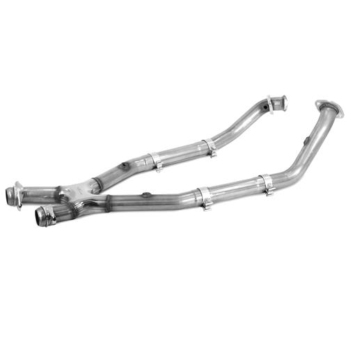 Bassani Mustang Off Road X-Pipe for Shorty Headers w/ Manual Trans Stainless (99-04) 4.6 46992