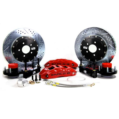 "Baer F-150 SVT Lightning 14"" Front Extreme+ Brake Kit  - Red (99-04)"