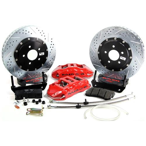 "Baer Mustang 15"" Front Extreme+ Brake Kit  - Red (15-16)"