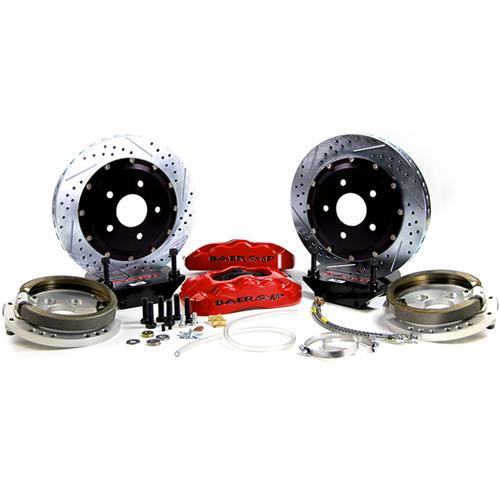 "Baer Mustang 14"" Pro Plus Rear Brake System  - Red (05-14)"