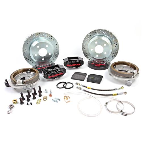 "Baer Mustang 12"" SS4 Rear Brake Kit  - Black (94-04) - Baer Mustang 12"" SS4 Rear Brake Kit  - Black (94-04)"
