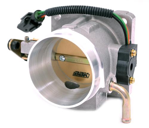 BBK Mustang 70mm Throttle Body Satin  (86-93) 5.0 1501