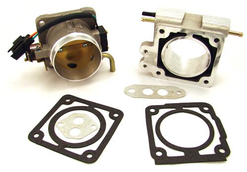 BBK  F-150 SVT Lightning 70mm Throttle Body And Spacer Kit Satin (93-95) 5.8