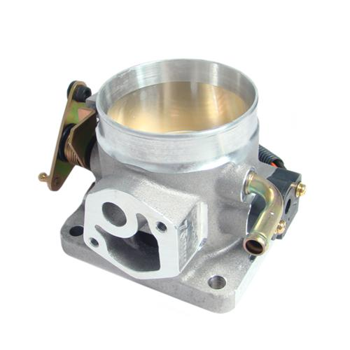 BBK Mustang 75mm Throttle Body Satin  (86-93) 5.0 1503