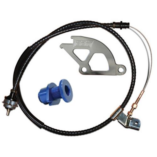 BBK 15055 Adjustable Clutch Cable//Aluminum Quadrant and Firewall Adjuster Kit for Ford Mustang