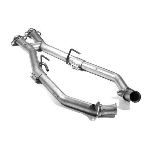 "BBK Mustang Off Road H-Pipe for Shorty Headers - 2.5""  (86-93) 5.0 1507"