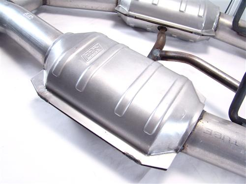 "BBK Mustang Catted H-Pipe for Longtube Headers - 2.5""  (86-93) 5.0 1509"
