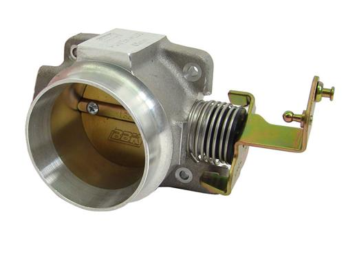 BBK  Mustang 65mm Throttle Body Satin  (99-00) V6 3.8 1552