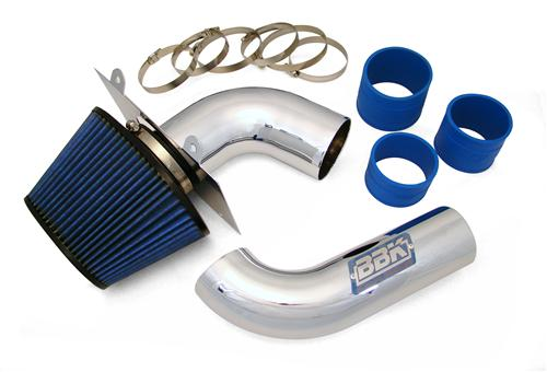BBK Mustang Fenderwell Cold Air Intake Kit Chrome (89-93) 5.0 1557