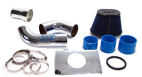 BBK Mustang Fenderwell Cold Air Intake Kit (86-88) 5.0 1557K