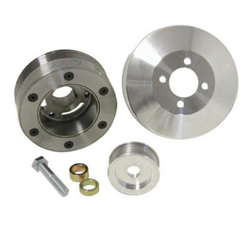 2001 Mustang Cobra Supercharger Kit: BBK Mustang SFI Pulley Kit (96-01) GT 1564