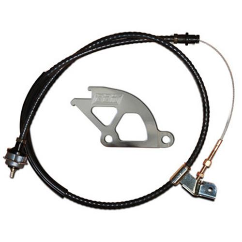 96-00 CABLE KIT, CLUTCH, ADJUSTABLE, W/ QUADRANT, GT/COBRA