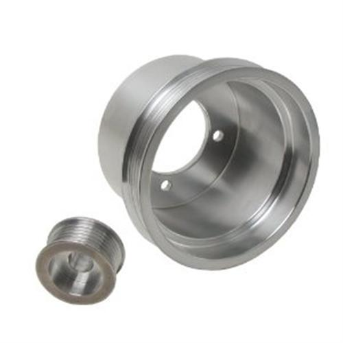 94-98 MUSTANG 3.8L UNDERDRIVE PULLEY KIT - 94-98 MUSTANG 3.8L UNDERDRIVE PULLEY KIT