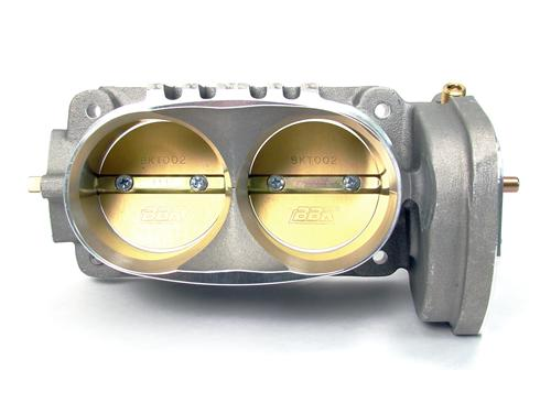 BBK Mustang Twin 62mm Throttle Body Satin (05-10) GT 1763