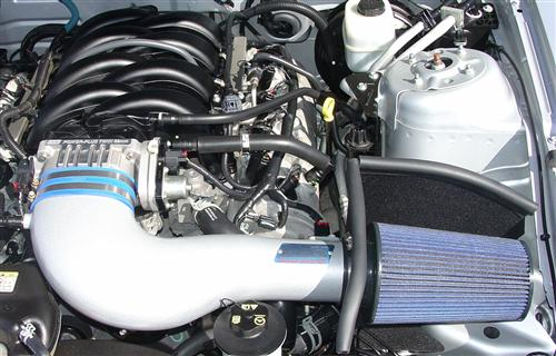 2005 09 Ford Mustang Bbk Cold Air Intake Twin 62mm Throttle Body Kit Gt S197 By Bbk