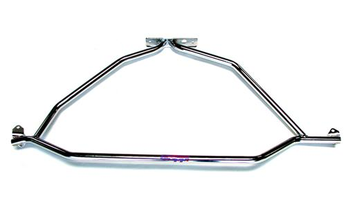 BBK Mustang Strut Tower Brace Chrome  (86-93) 25040