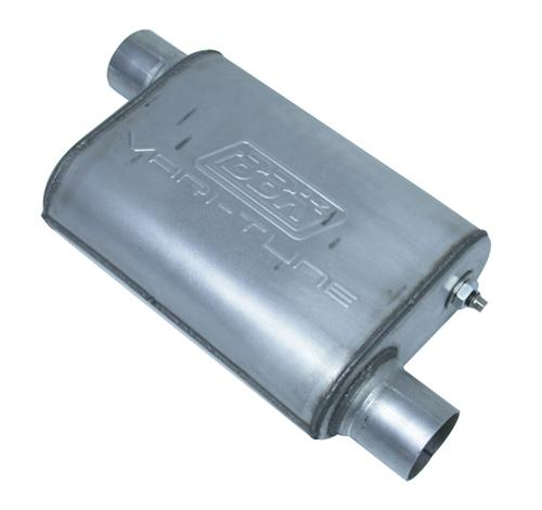 "Picture of BBK Mustang Varitune Muffler 3"" Stainless Steel (79-04)"