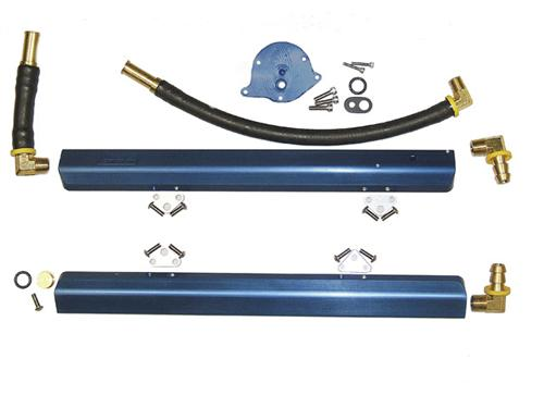 BBK Mustang High Flow Aluminum Fuel Rails (86-93) 5.0 5010