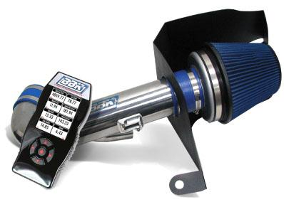BBK Mustang Cold Air Intake Kit w/ SCT X4 Tuner  Chrome (11-14) GT 5.0 7101
