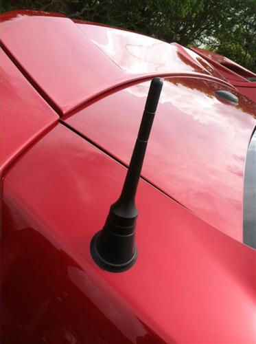 Blow-By Racing Mustang Black Billet Shorty Antenna (10-14) 2010001