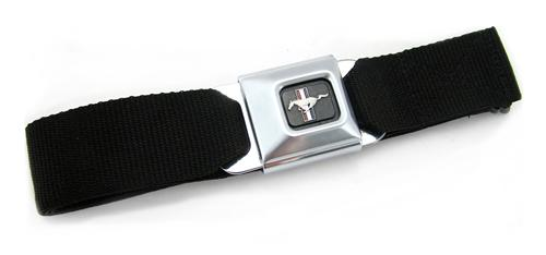 Running Pony Logo Seat Belt Style Belt