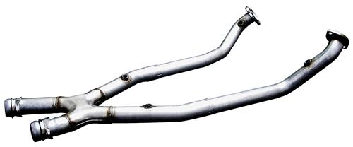 Bassani Mustang Off-Road X-Pipe for Automatic Stainless (99-04) GT-Mach 1 46002