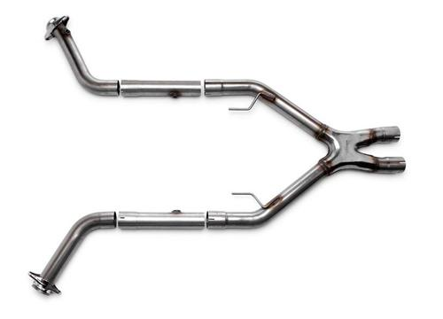 Bassani Mustang Off Road X-Pipe Stainless Steel  (05-10) GT 4.6L 46052