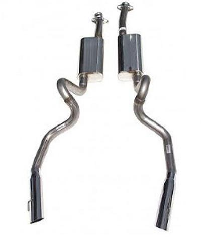 Bassani Mustang Catback Exhaust Stainless (96-97) 4.6 46975S