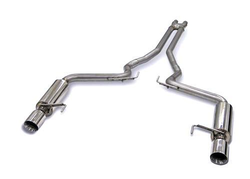 "Bassani Mustang 3"" X-Pipe & Catback System (2015) GT 5015R35"