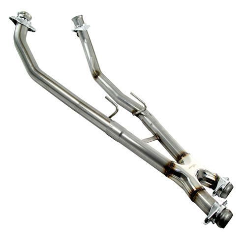 Bassani Mustang Off Road X-Pipe Stainless Steel  (86-93) 5.0