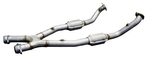 Bassani Mustang Catalytic X-Pipe for Automatic Aluminized (99-04) GT-Mach 1