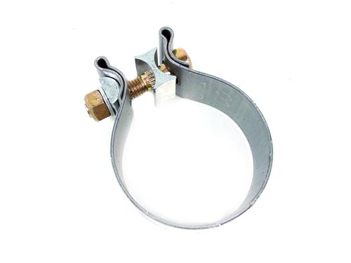 "Bassani Mustang 3"" Stainless Band Clamp (79-17) TC300"