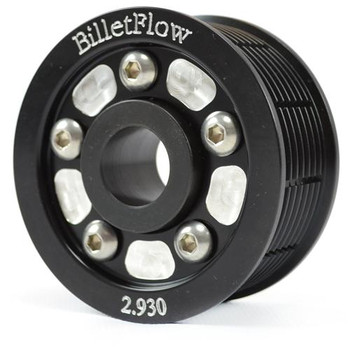 "BilletFlow Mustang Cobra 2.93"" Supercharger Pulley with Hub (03-04)"